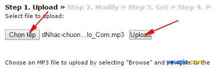 Cách chuyển file mp3 sang file m4r