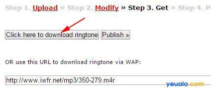 Thủ thuật chuyển đổi file .mp3 thành file .m4r online