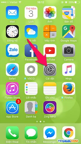 Cách sao chép danh bạ từ Sim sang iPhone 1