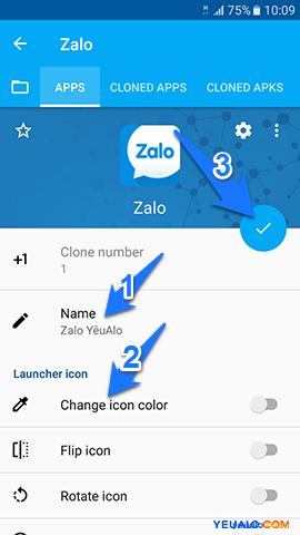 Cách đăng nhập 2 tài khoản Zalo trên cùng 1 máy điện thoại 3