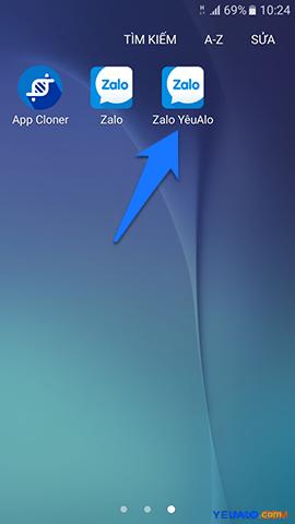Cách đăng nhập 2 tài khoản Zalo trên cùng 1 máy điện thoại 5
