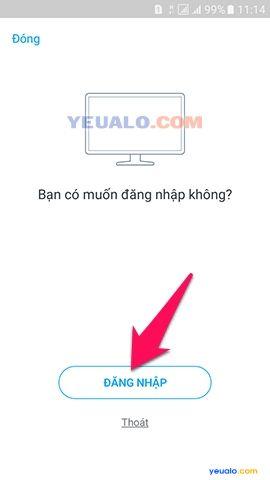 Cách đăng nhập Zalo trên máy tính, laptop 4