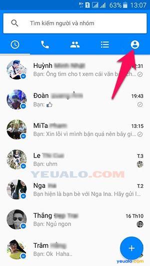 Cách đăng nhập 2, hay nhiều tài khoản Facebook trên Messenger