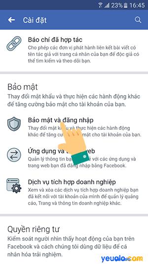 Cách đăng xuất Messenger từ xa trên điện thoại 4
