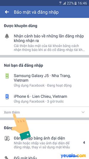 Cách đăng xuất Messenger từ xa trên điện thoại 5