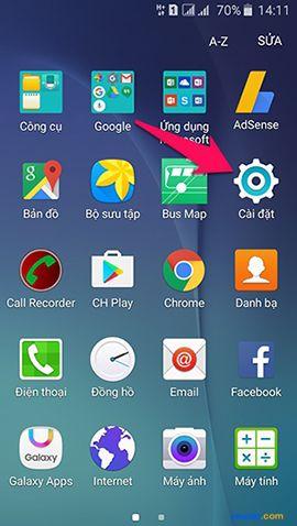 Cách đăng xuất tài khoản Google Play trên điện thoại Android 1