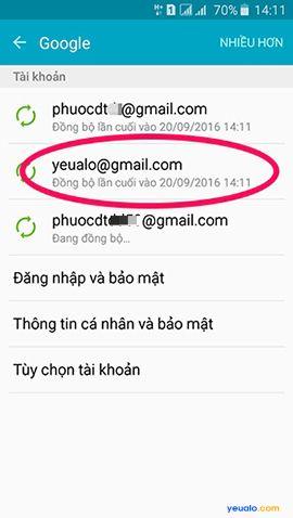 Cách đăng xuất tài khoản Google Play trên điện thoại Android 4