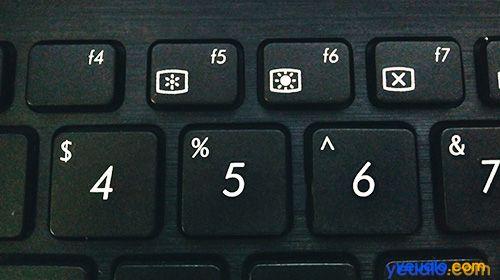Cách chỉnh độ sáng màn hình laptop