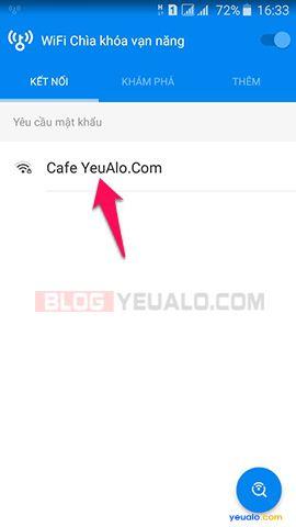 Cách dò tìm mật khẩu Wifi cho điện thoại Android 3