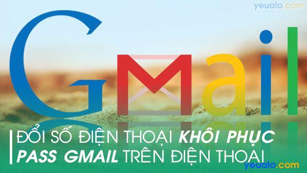 Cách đổi số điện thoại Gmail trên điện thoại