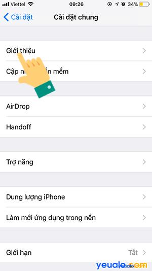 Cách đổi tên điểm phát Wifi Bluetooth iPhone iPad 3