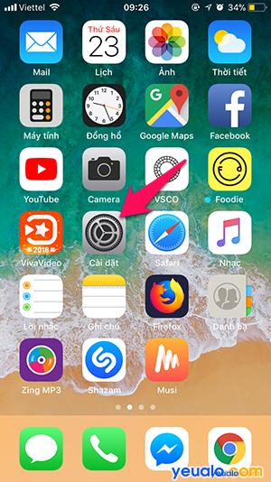 Cách đổi tên iPhone 1
