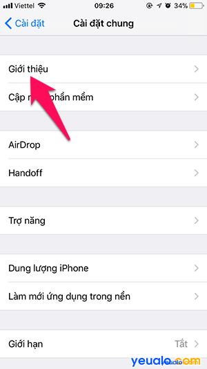 Cách đổi tên iPhone 3