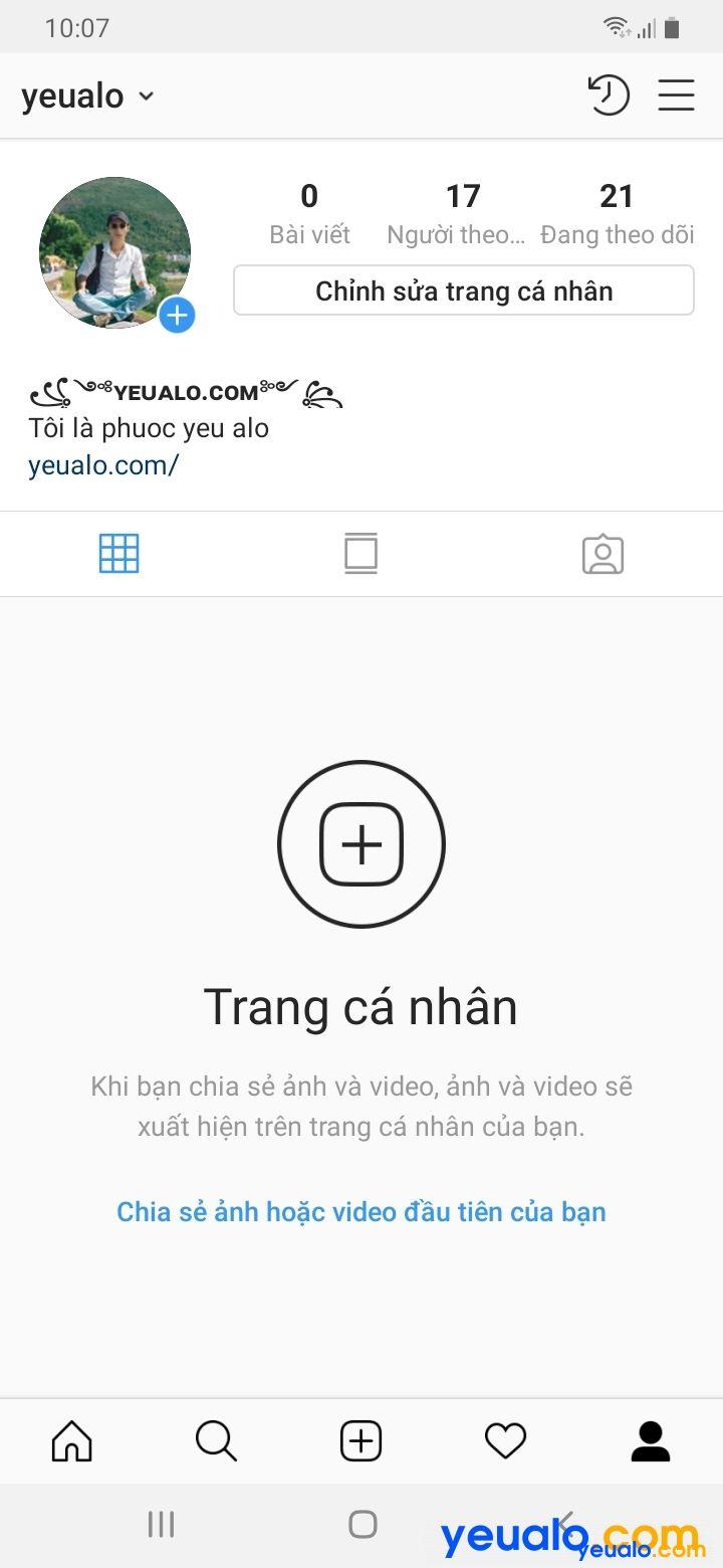 Cách đổi tên Instagram kí tự đặc biệt đẹp 4