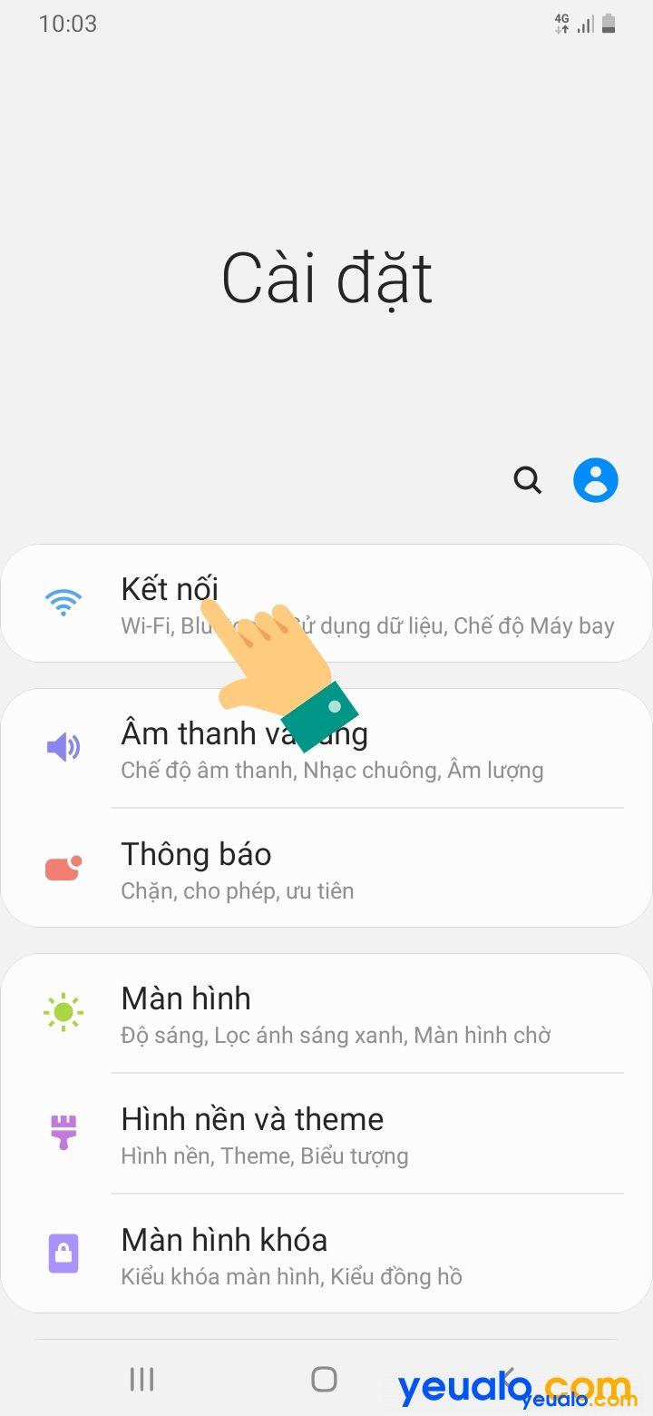 Cách đổi tên, mật khẩu điểm phát Wifi Samsung 2