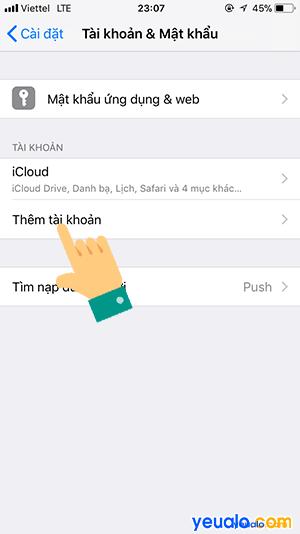 Cách lấy danh bạ từ Gmail sang iPhone 3