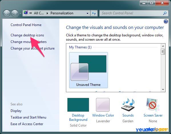 Cách đưa My Computer ra ngoài desktop 2