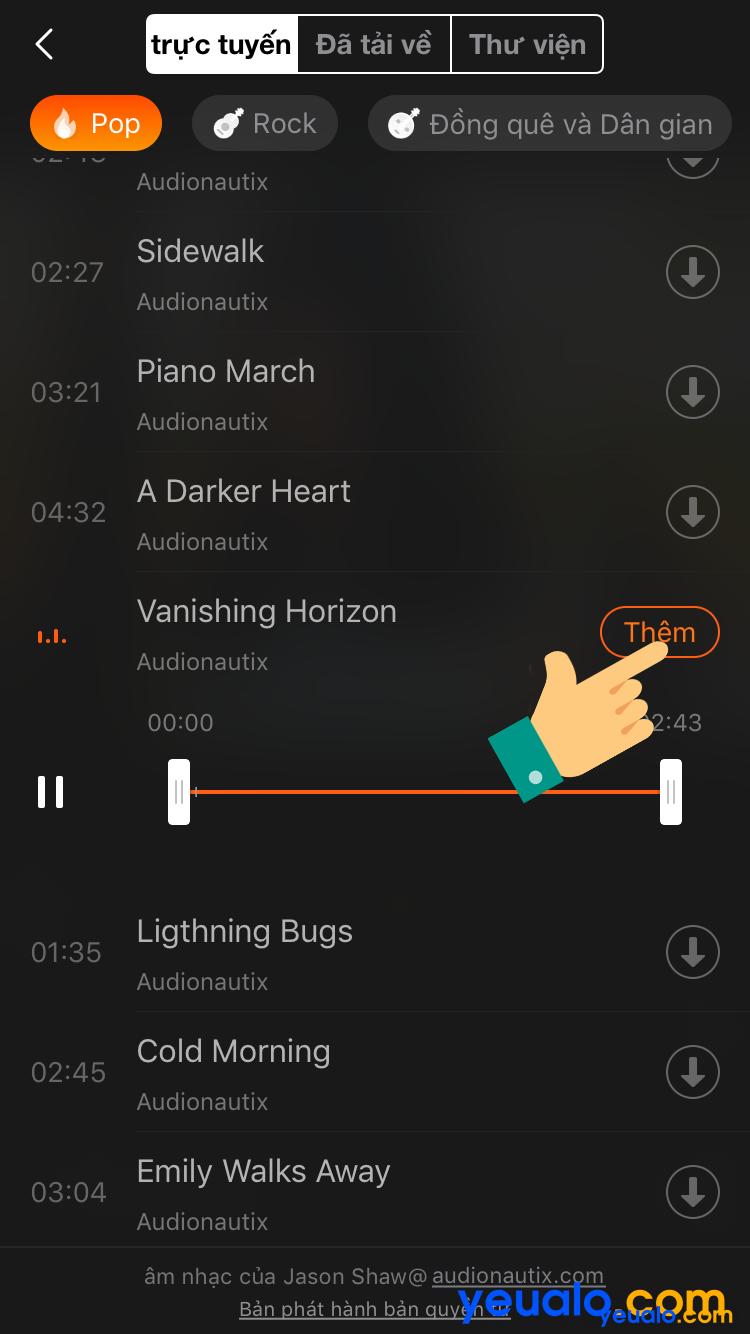 Cách ghép nhạc vào ảnh trên iPhone 7