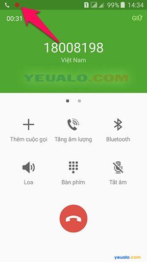 Cách ghi âm cuộc gọi điện thoại Samsung Galaxy 3