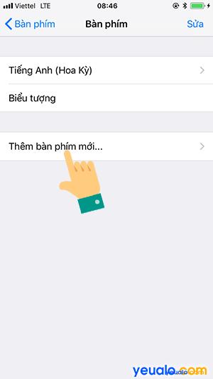Cách gõ Tiếng Việt trên iPhone 5