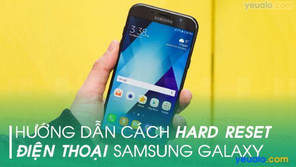 Cách hard reset Samsung A10