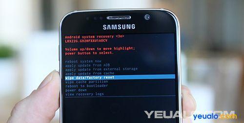 Hướng dẫn cách Hard Reset điện thoại Samsung Galaxy 2