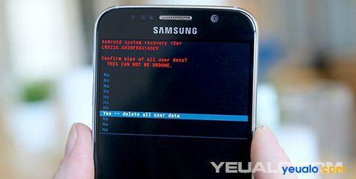 Hướng dẫn cách Hard Reset điện thoại Samsung Galaxy 3