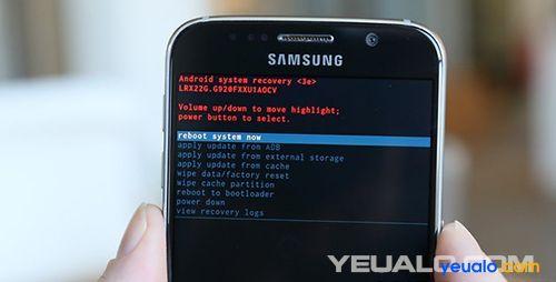Hướng dẫn cách Hard Reset điện thoại Samsung Galaxy 4