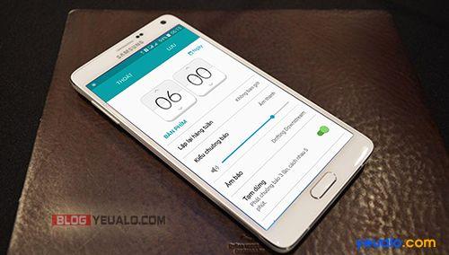 Cách hẹn giờ báo thức trên điện thoại Samsung Galaxy