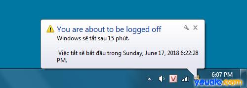 Cách hẹn giờ tắt máy tính bàn 2