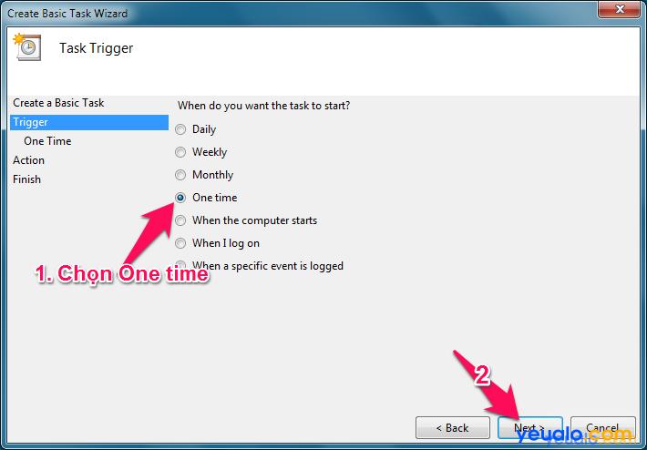 Cách hẹn giờ tắt máy tính 10
