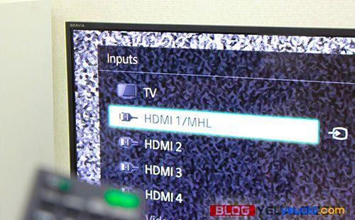Cách kết nối, chiếu màn hình điện thoại lên Tivi 6