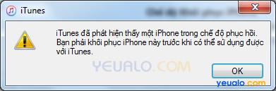 Cách khắc phục lỗi iPhone bị treo không tắt được nguồn, treo logo quả táo, treo cáp 1