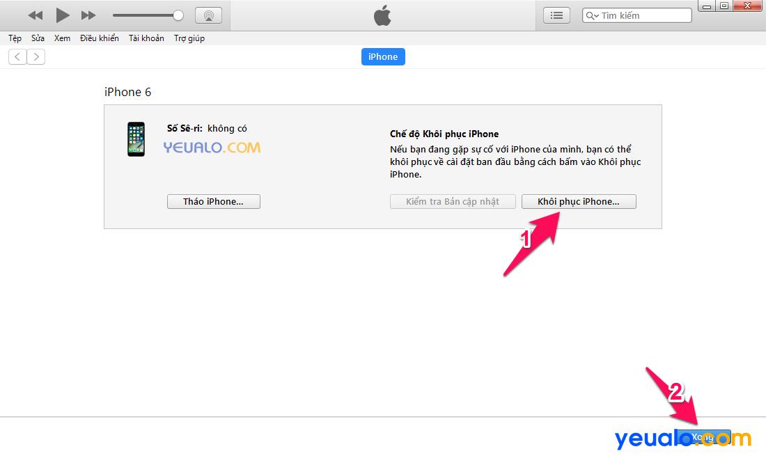 Cách khắc phục lỗi iPhone bị treo không tắt được nguồn, treo logo quả táo, treo cáp 2