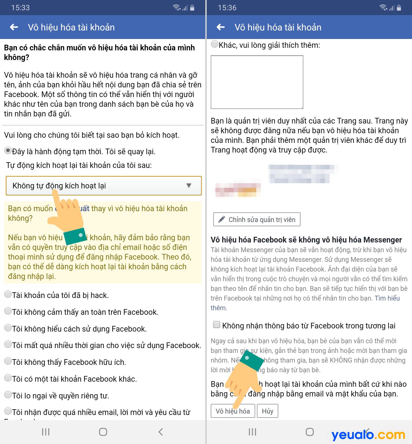 Cách khóa tường Facebook không cho người khác xem trên điện thoại 3