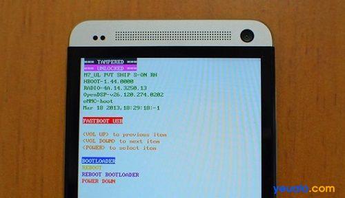 Hướng dẫn cách khôi phục cài đặt gốc điện thoại HTC One