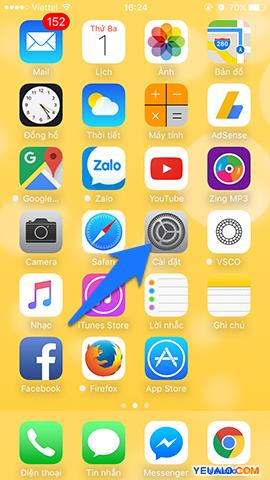 Cách khôi phục cài đặt gốc iPhone 1