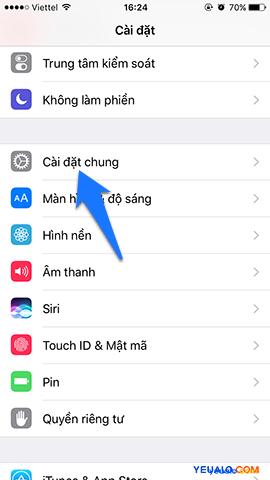 Cách khôi phục cài đặt gốc iPhone 2