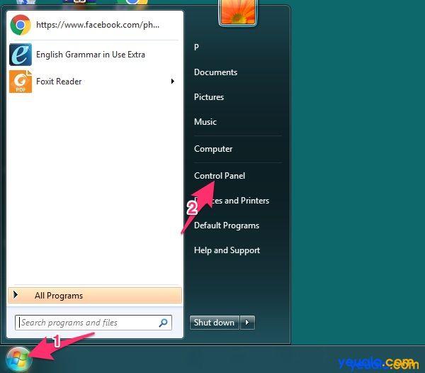 Cách khôi phục Font chữ mặc định của Windows 1