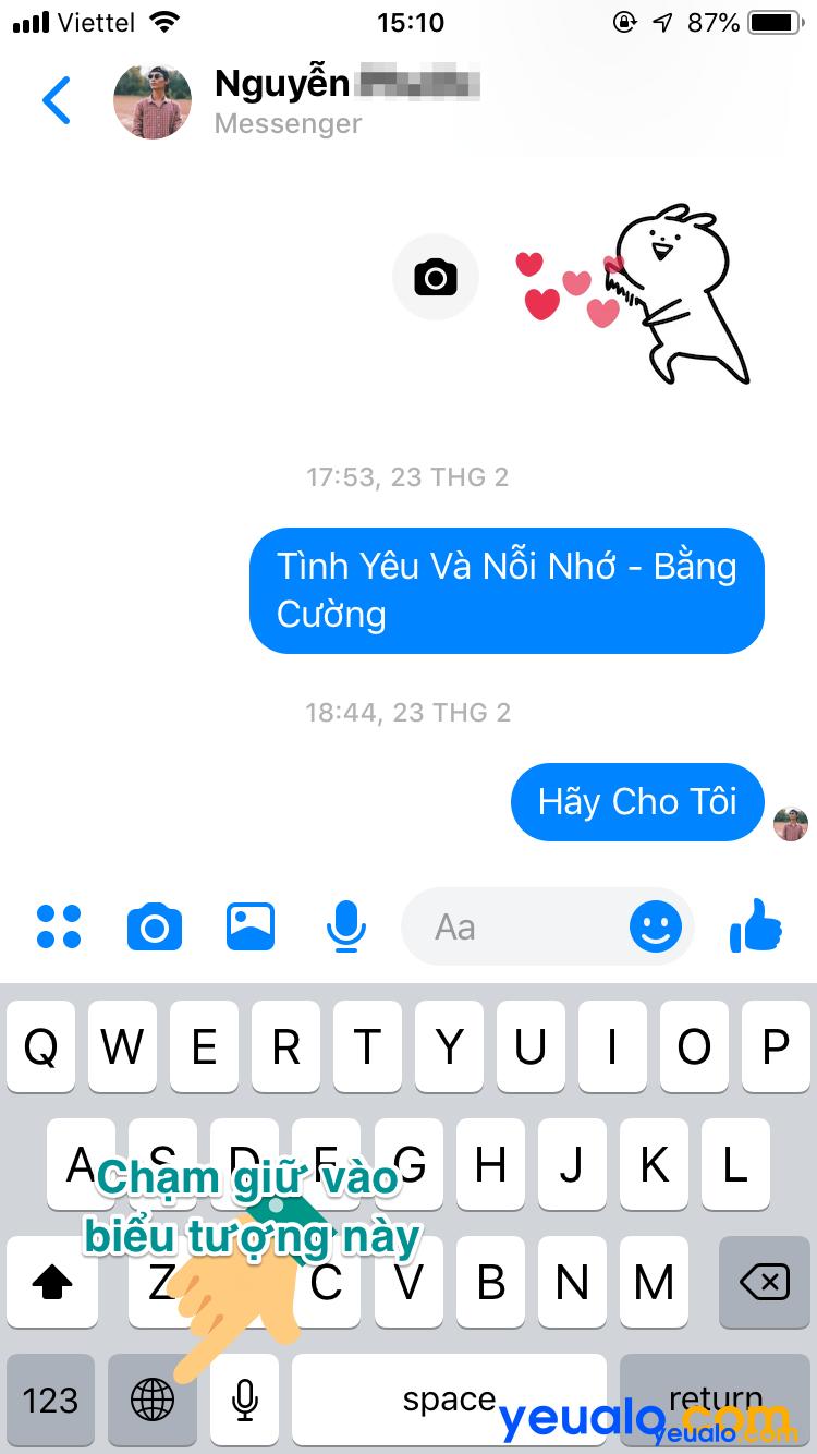 Cách kích hoạt chế độ tối cho Messenger trên iPhone 1