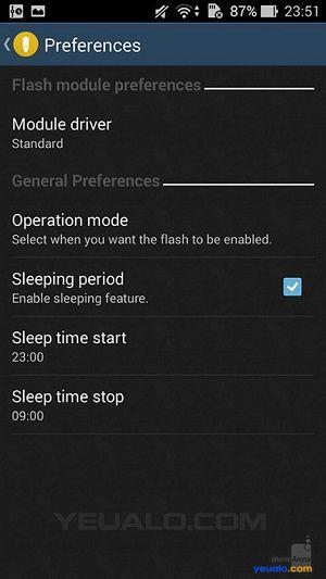 Cách làm đèn Flash LED nháy sáng khi có cuộc gọi, tin nhắn, hay thông báo 3
