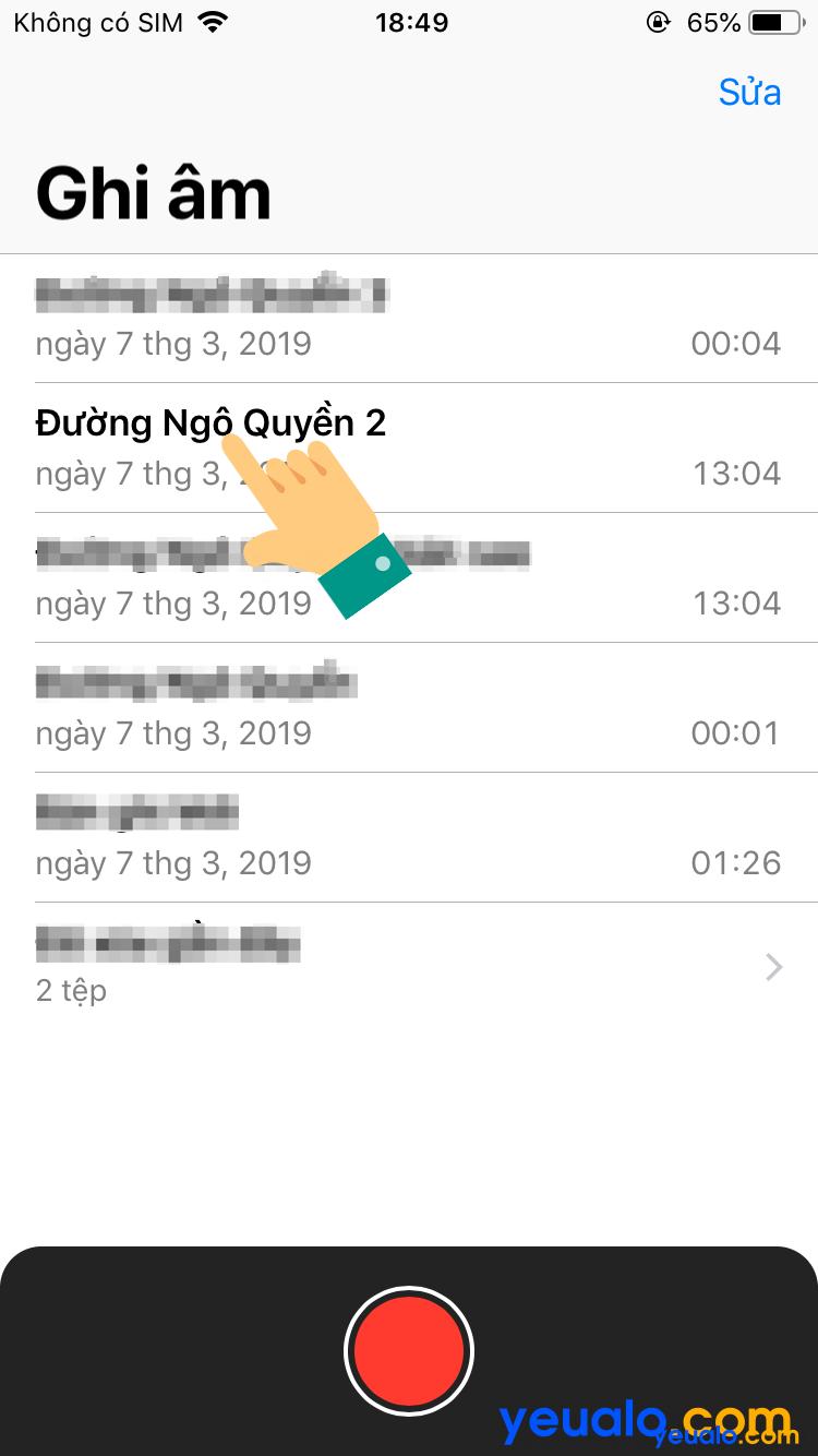 Cách lấy file ghi âm từ iPhone sang máy tính 2