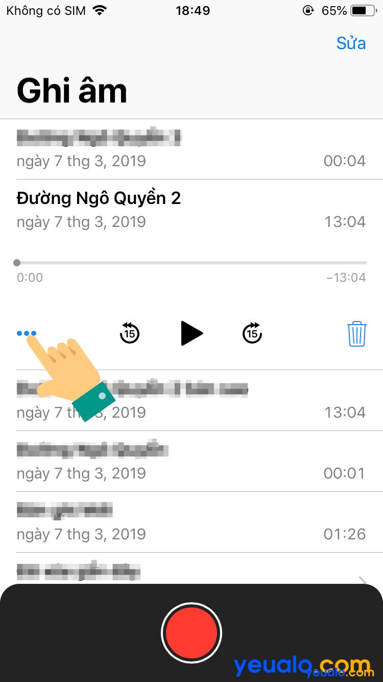 Cách lấy file ghi âm từ iPhone sang máy tính 3