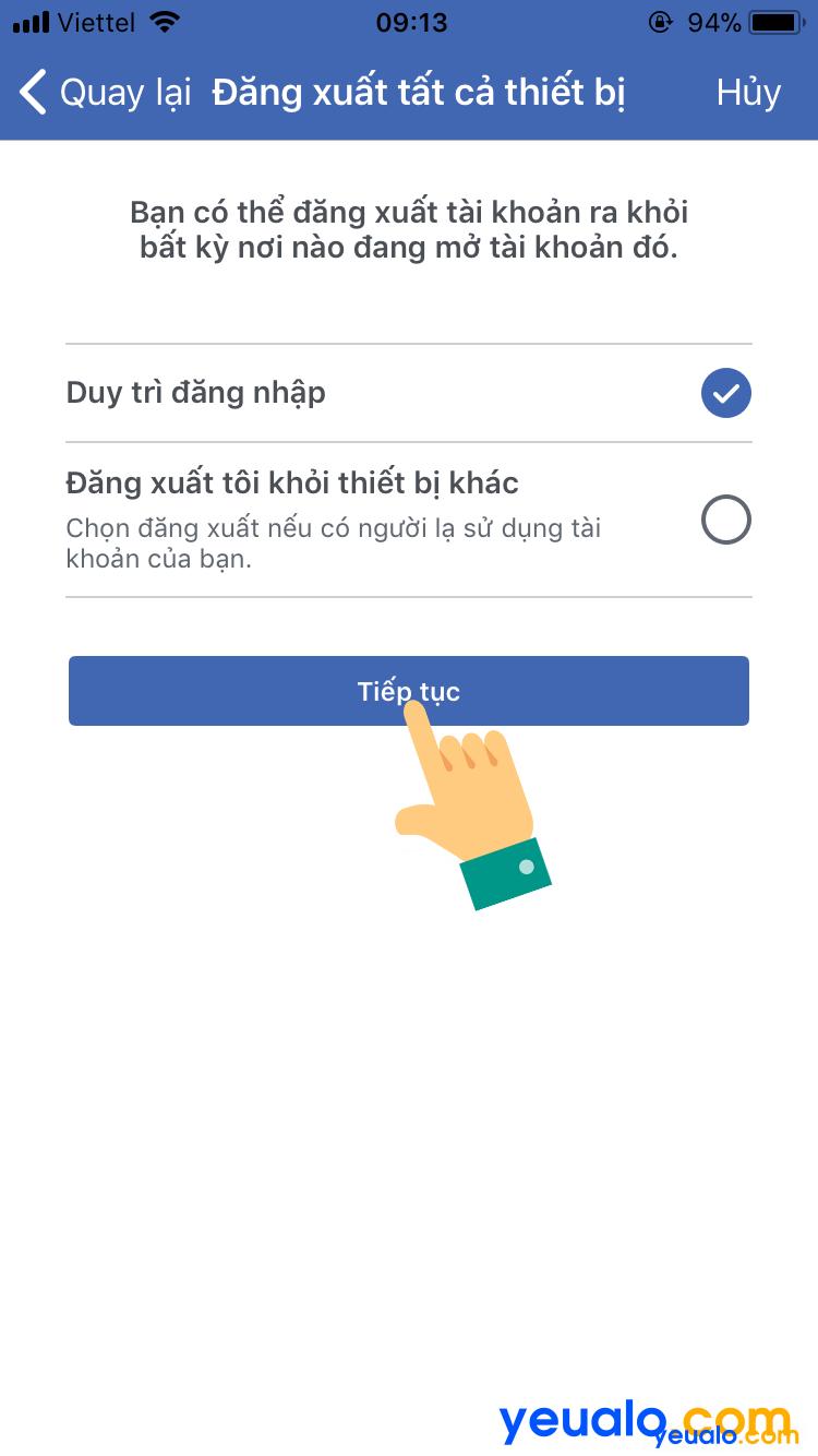 Cách lấy lại mật khẩu Facebook bằng Gmail 8