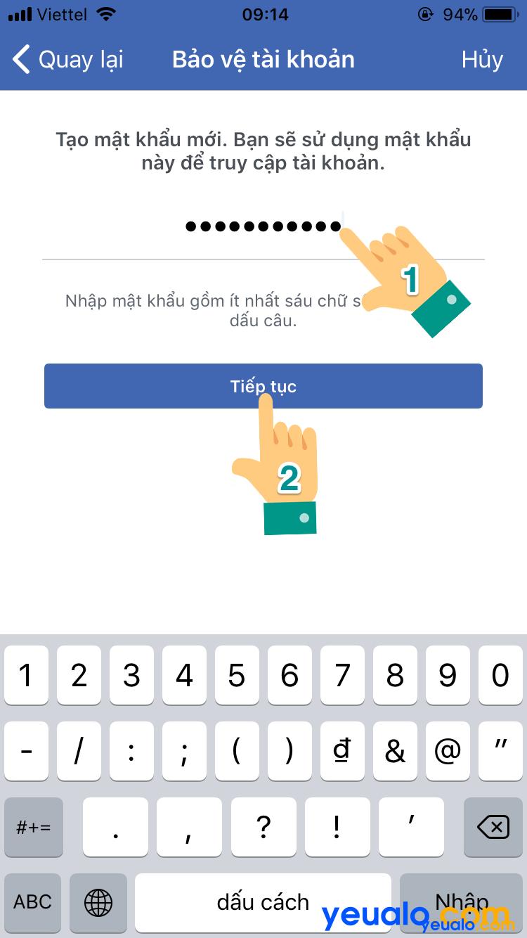 Cách lấy lại mật khẩu Facebook bằng Gmail 9