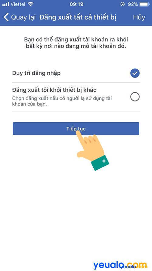 Cách lấy mật khẩu Facebook bị quên 8
