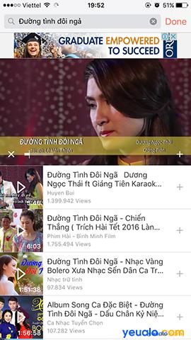 Cách nghe nhạc Youtube khi tắt màn hình trên iPhone 10