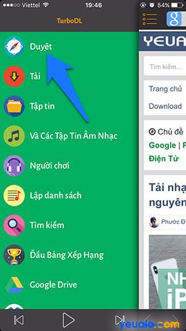 Cách nghe nhạc Youtube khi tắt màn hình trên iPhone 2