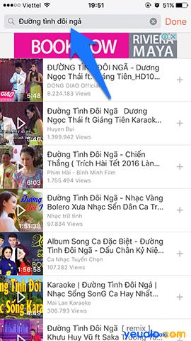Cách nghe nhạc Youtube khi tắt màn hình trên iPhone 9