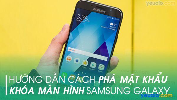 Quên mật khẩu Samsung J6